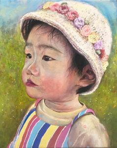 子供 絵画 似顔絵 オーダーメイド