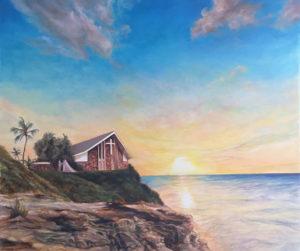 海 絵画 オーダーメイド 結婚 記念日