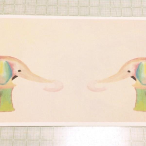 ゾウのアート